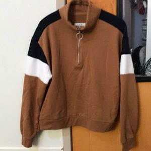 Brown Mult-color sweater